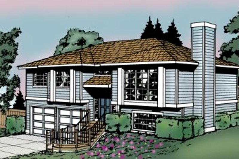 Traditional Exterior - Front Elevation Plan #87-501 - Houseplans.com
