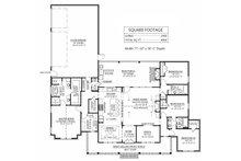 Farmhouse Floor Plan - Main Floor Plan Plan #1074-24