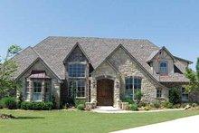 House Plan Design - European Exterior - Front Elevation Plan #52-193