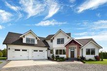 Dream House Plan - Farmhouse Exterior - Front Elevation Plan #1070-10