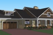 Craftsman Style House Plan - 3 Beds 2 Baths 1999 Sq/Ft Plan #51-513 Exterior - Other Elevation