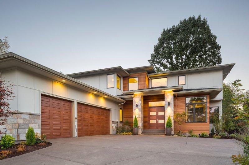 House Plan Design - Contemporary Exterior - Front Elevation Plan #48-651