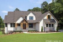 Dream House Plan - Craftsman Exterior - Front Elevation Plan #929-1051