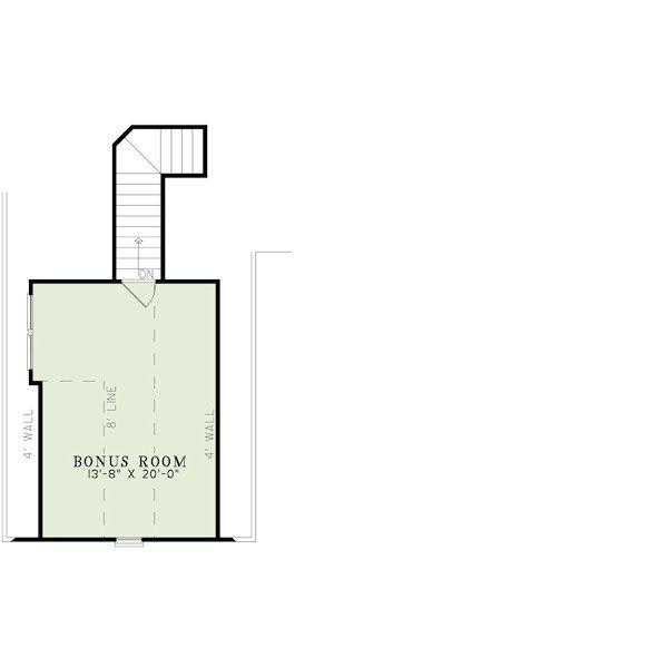 European Floor Plan - Other Floor Plan Plan #17-2417