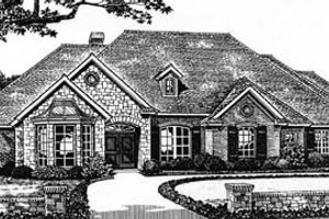 House Design - European Exterior - Front Elevation Plan #310-538
