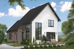 Cottage Exterior - Front Elevation Plan #23-2736