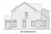 Traditional Style House Plan - 4 Beds 2.5 Baths 2257 Sq/Ft Plan #20-2346 Exterior - Other Elevation