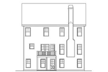 Dream House Plan - Craftsman Exterior - Rear Elevation Plan #419-224