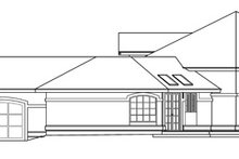 Ranch Exterior - Other Elevation Plan #124-425