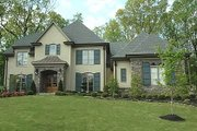 European Style House Plan - 4 Beds 4.5 Baths 4971 Sq/Ft Plan #424-31 Exterior - Other Elevation