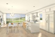 Modern Style House Plan - 2 Beds 2 Baths 2198 Sq/Ft Plan #497-28 Interior - Kitchen