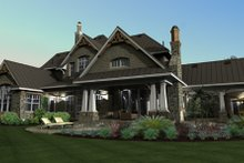 Craftsman Exterior - Other Elevation Plan #120-173