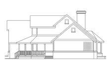 Farmhouse Exterior - Other Elevation Plan #124-187