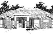 House Plan - 3 Beds 2 Baths 2157 Sq/Ft Plan #24-190 Exterior - Front Elevation