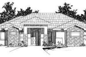 Exterior - Front Elevation Plan #24-190