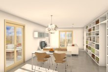 House Blueprint - Traditional Interior - Other Plan #497-38