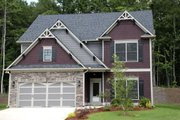 Craftsman Style House Plan - 4 Beds 3 Baths 2330 Sq/Ft Plan #419-224 Exterior - Front Elevation
