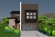 Modern Style House Plan - 3 Beds 4 Baths 3611 Sq/Ft Plan #449-7 Exterior - Other Elevation