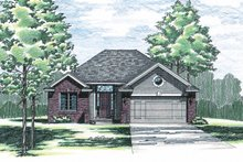 House Plan Design - Traditional Exterior - Front Elevation Plan #20-412