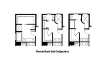 Alternate Master Bath Configurations