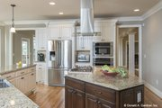 Craftsman Style House Plan - 3 Beds 3.5 Baths 3647 Sq/Ft Plan #929-361 Interior - Kitchen