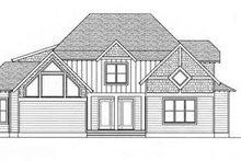Architectural House Design - European Exterior - Rear Elevation Plan #413-103