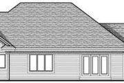 Traditional Style House Plan - 3 Beds 2 Baths 2097 Sq/Ft Plan #70-619 Exterior - Rear Elevation