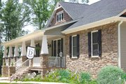 Craftsman Style House Plan - 4 Beds 3.5 Baths 2818 Sq/Ft Plan #44-186 Exterior - Other Elevation