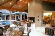 Mediterranean Style House Plan - 5 Beds 5.5 Baths 6780 Sq/Ft Plan #27-216 Exterior - Outdoor Living