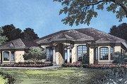 Mediterranean Style House Plan - 4 Beds 3 Baths 2362 Sq/Ft Plan #417-218
