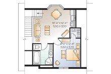 Traditional Floor Plan - Main Floor Plan Plan #23-443