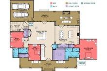 Farmhouse Floor Plan - Main Floor Plan Plan #63-430