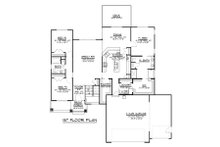 Ranch Floor Plan - Main Floor Plan Plan #1064-41