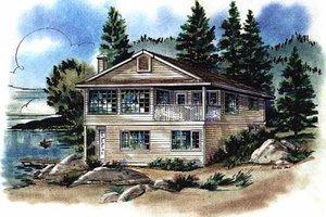 House Design - Bungalow Exterior - Front Elevation Plan #18-157