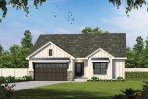 House Plan Design - Farmhouse Exterior - Front Elevation Plan #20-2462