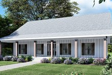House Plan Design - Farmhouse Exterior - Front Elevation Plan #44-249