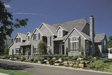 Dream House Plan - European Exterior - Front Elevation Plan #48-617