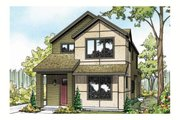 Cottage Style House Plan - 3 Beds 2.5 Baths 1688 Sq/Ft Plan #124-909 Exterior - Front Elevation
