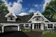 Craftsman Style House Plan - 4 Beds 3 Baths 2341 Sq/Ft Plan #51-573