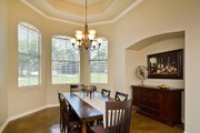 European Style House Plan - 3 Beds 3.5 Baths 3289 Sq/Ft Plan #80-192 Interior - Dining Room