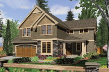 Front View - 2450 square foot Craftsman Home