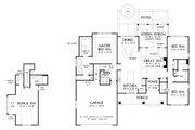 Farmhouse Style House Plan - 3 Beds 2 Baths 1974 Sq/Ft Plan #929-1099 Floor Plan - Main Floor