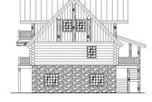 Architectural House Design - Log Exterior - Rear Elevation Plan #117-409