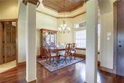 Traditional Style House Plan - 6 Beds 3.5 Baths 2772 Sq/Ft Plan #80-173 Interior - Dining Room