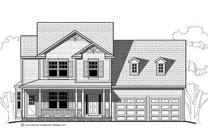 Traditional Exterior - Other Elevation Plan #459-4