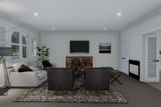 Cottage Style House Plan - 2 Beds 2 Baths 1641 Sq/Ft Plan #1060-64 Interior - Family Room
