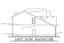 Dream House Plan - Craftsman Exterior - Other Elevation Plan #20-1776