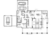 Country Floor Plan - Main Floor Plan Plan #63-409