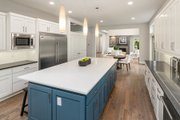 Contemporary Style House Plan - 5 Beds 4.5 Baths 4039 Sq/Ft Plan #1066-14 Interior - Kitchen
