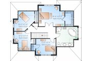 Traditional Style House Plan - 4 Beds 2 Baths 1874 Sq/Ft Plan #23-721 Floor Plan - Upper Floor